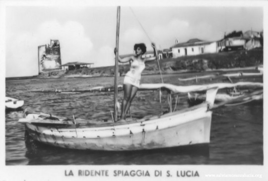 Santa Lucia:cartoline dal passato